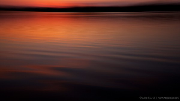 Sonnenuntergang Rheinauen